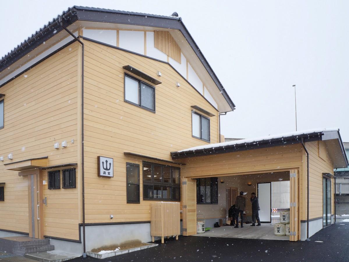 「宗玄酒造」が開設した金沢営業所