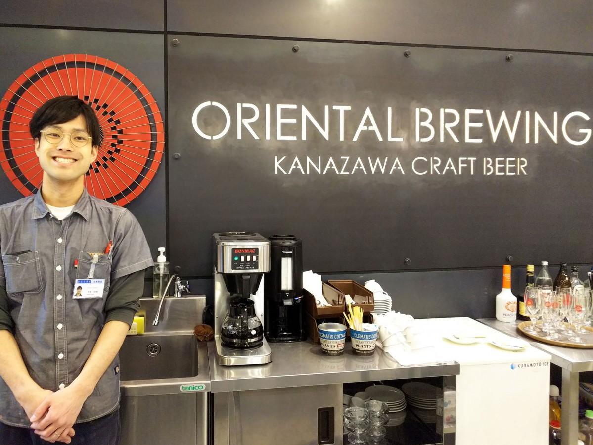 オリエンタルブルーイング直営店の3店舗目が金沢駅にオープン