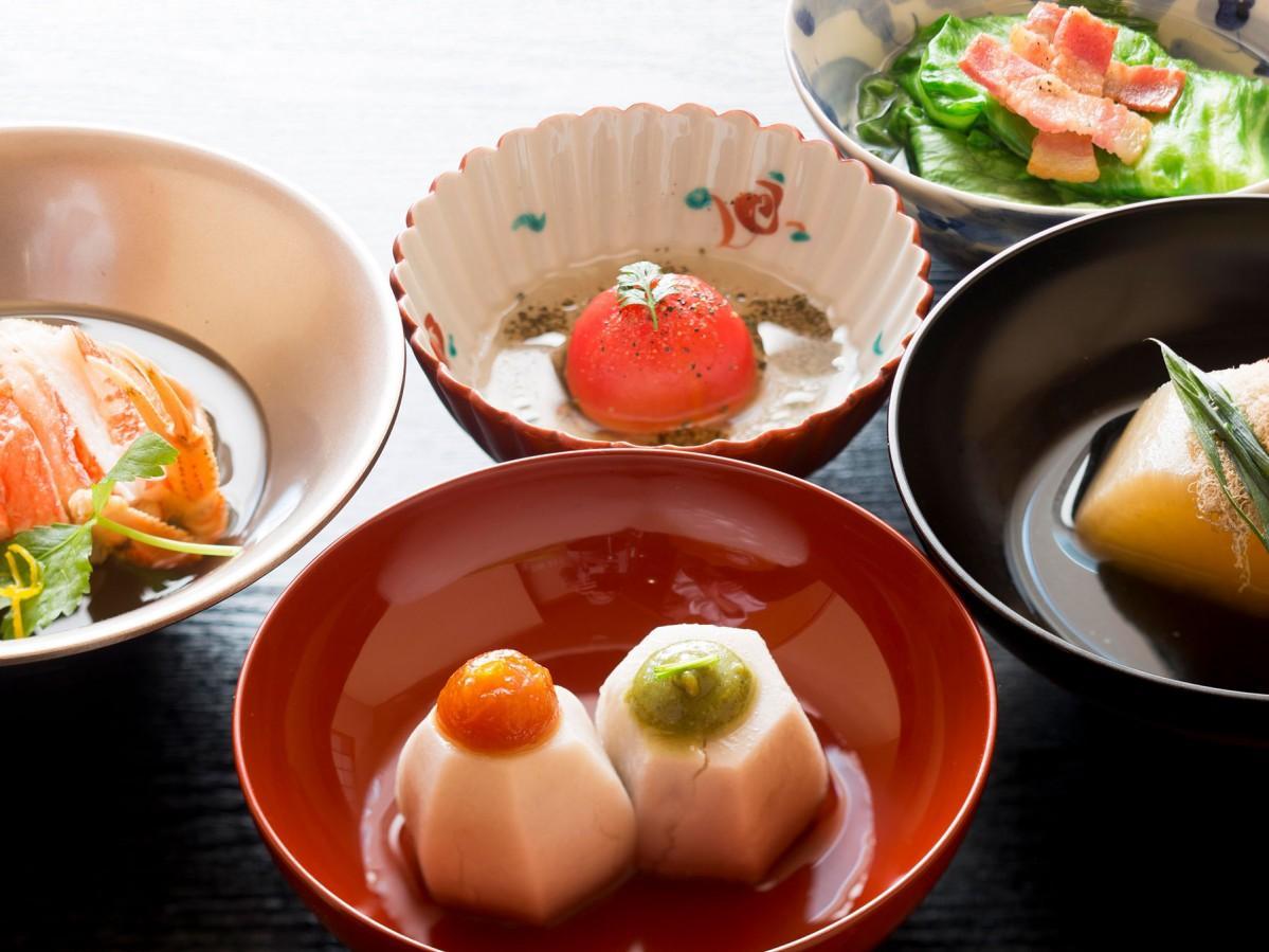「おでん懐石 金澤 かが美」で提供する料理