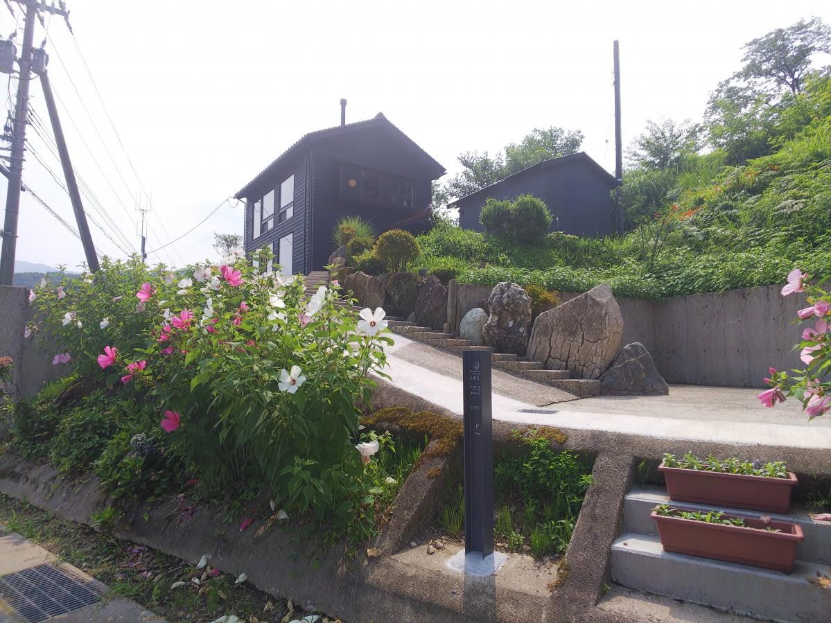 古民家を改修したカフェレストラン「とある丘」