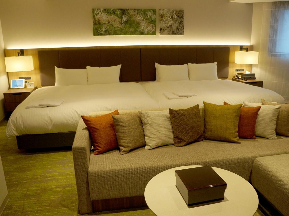 「ホテルフォルツァ金沢」の客室