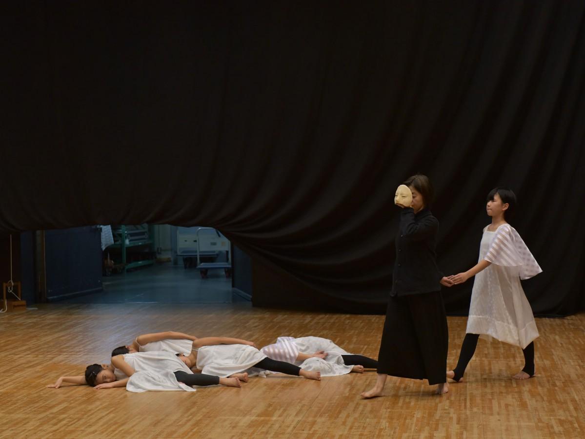 ダンスパフォーマンス練習風景