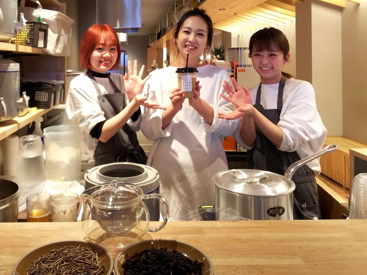 加賀棒茶と台湾茶の魅力を伝える「チャノキカナザワ」の皆さん