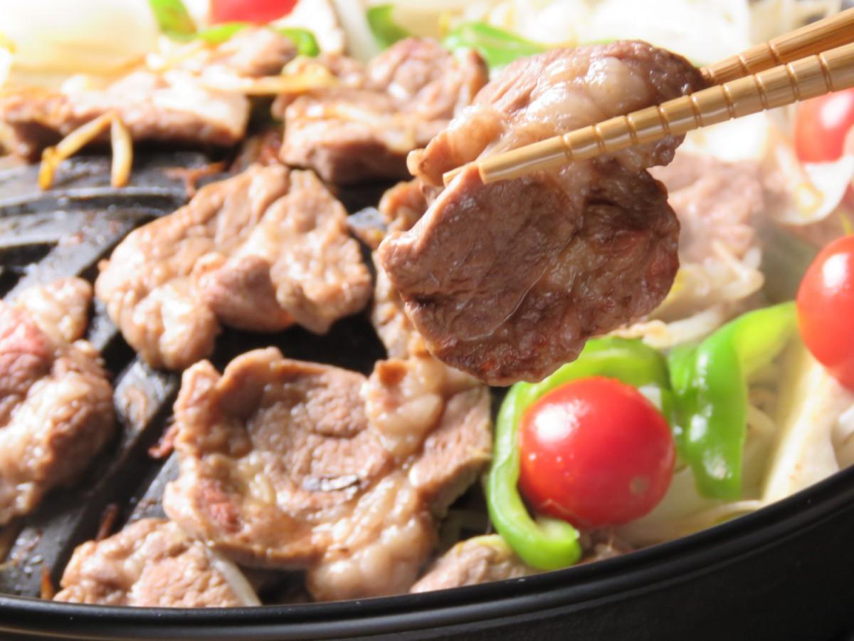 ジンギスカン料理
