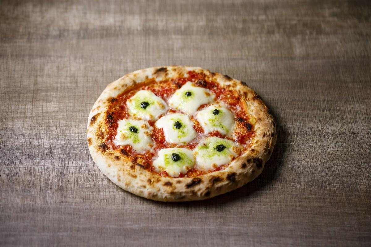5月の月替わりピザの1つ「フレッシュバジルマルゲリータ」