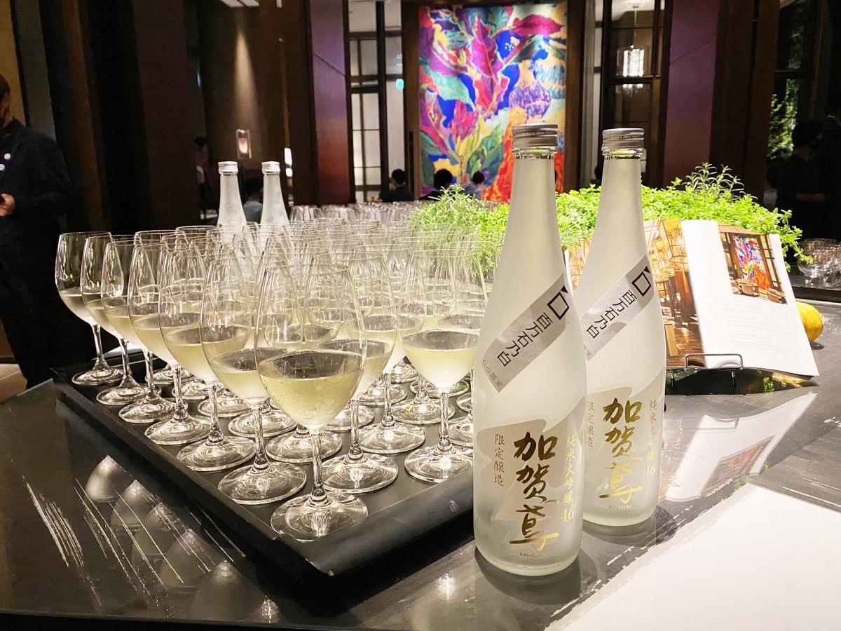 新しい県産酒米「百万石乃白」を使った日本酒