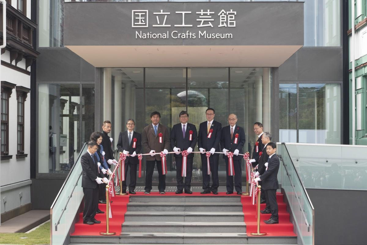 開館記念式典では、名誉館長を務める中田英寿さんの姿も