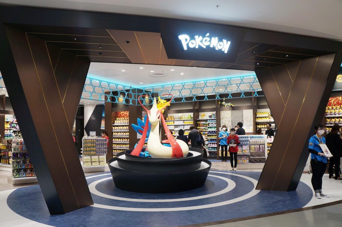 金沢フォーラスにオープンした「ポケモンセンターカナザワ」©2020 Pokémon. ©1995-2020 Nintendo/Creatures Inc. /GAME FREAK inc. ポケットモンスター・ポケモン・Pokémonは任天堂・クリーチャーズ・ゲームフリークの登録商標です。