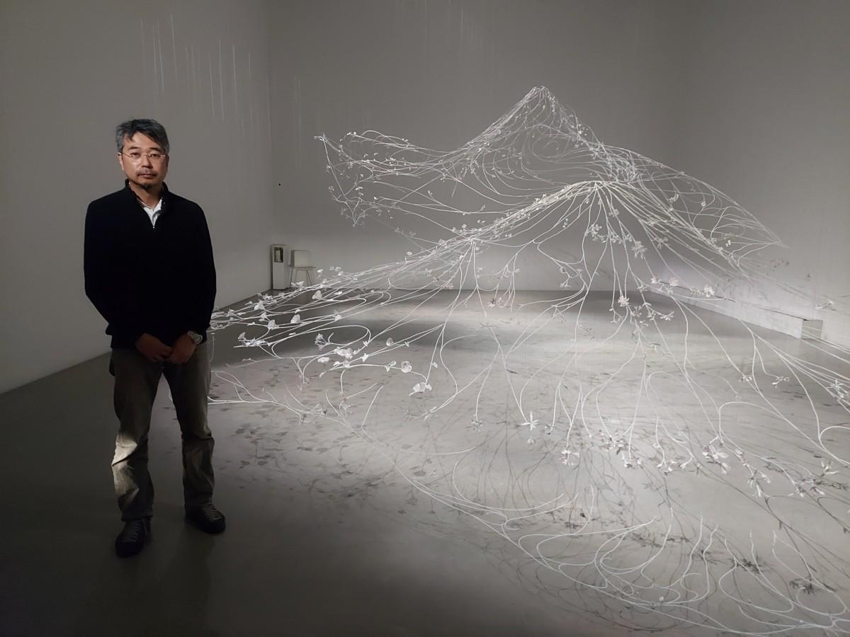 美術家・高橋治希さんにとって過去最大級の作品となる
