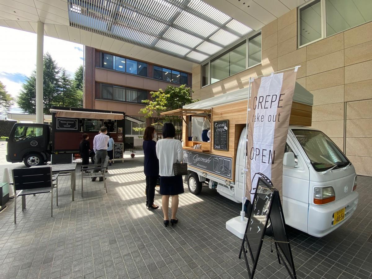 金沢城公園に面した金沢商工会議所の空きスペースを活用