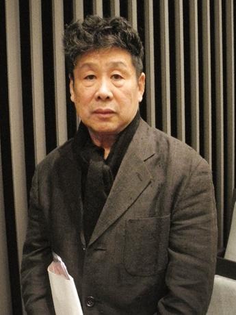 日本のヌード絵画についてユニークな視点と辛口トークで解説した美術家・横尾忠則さん