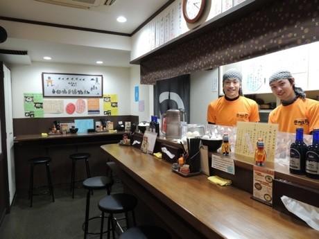 盛岡じゃじゃ麺専門店「きたいち」店内