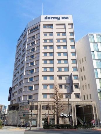 神田須田町にビジネスホテル「ドーミーイン プレミアム」 大浴場など整備