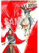 書泉グランデで「『達人伝』×『蒼天航路』王欣太原画展」 コラボ原画など展示