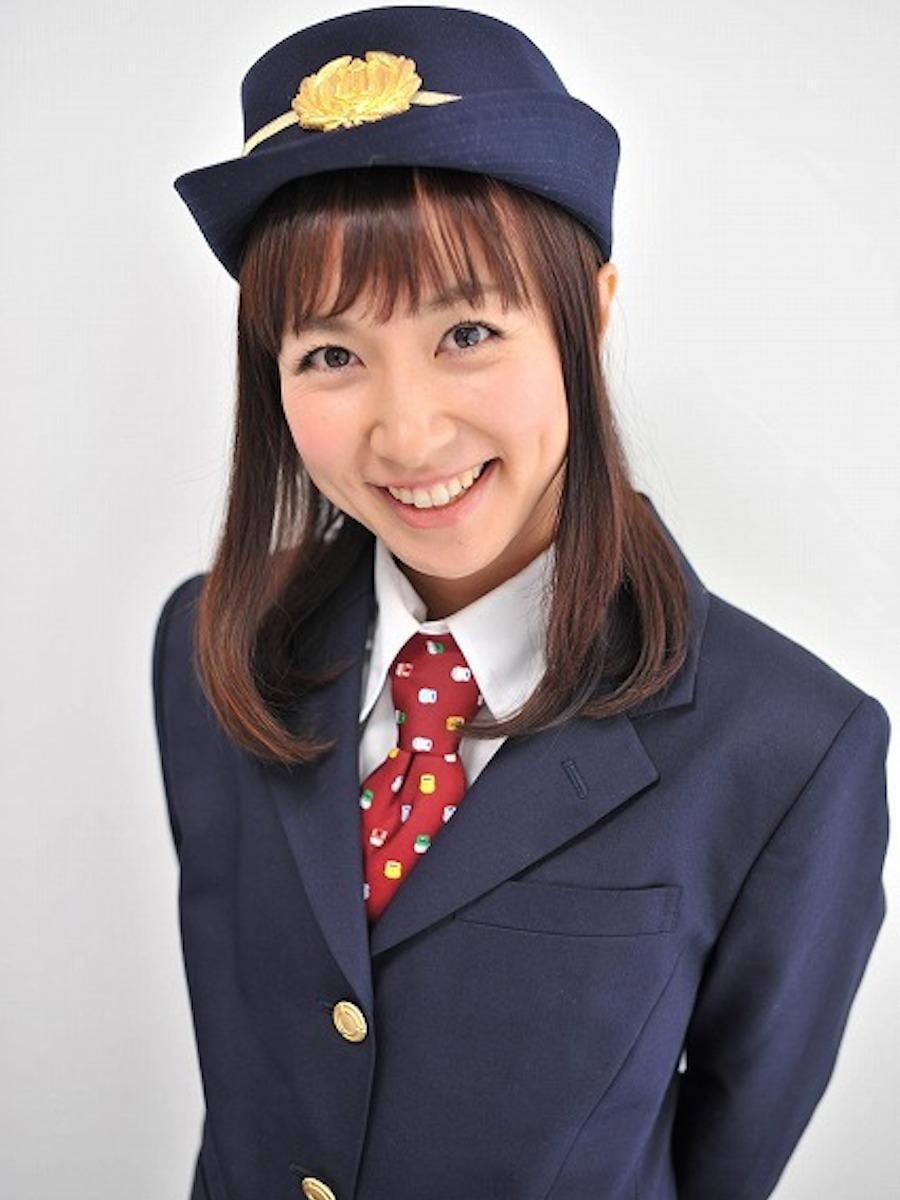 鉄道タレントの豊岡真澄さん