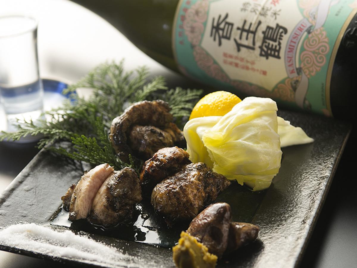千葉県産水郷赤鶏を使ったメニューを提供