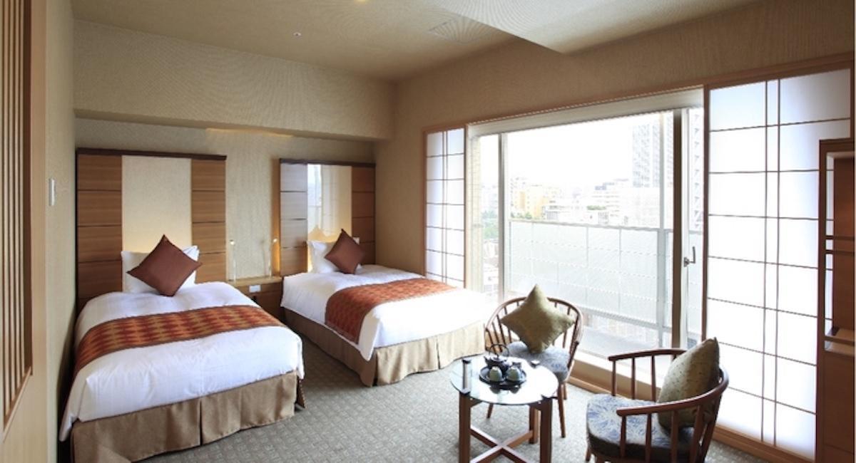 「庭のホテル 東京」の客室