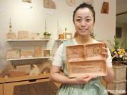 下関に韓国カフェ「ソリナム」 メッセージ付き木製ギフト販売も
