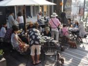 門司の「カフェ・ド・ブリック」がバーベキュー営業開始へ ペット連れ客に好評