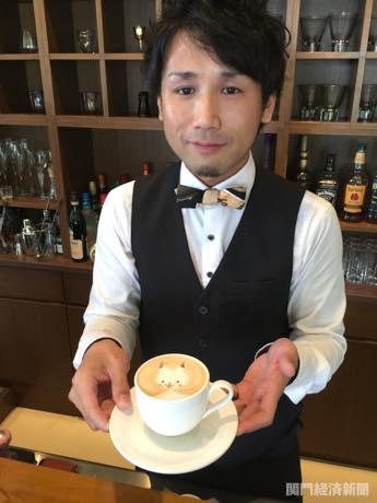 門司のカフェに「ピカチュウ」ラテ 「ポケGO」ユーザーに向け販売へ