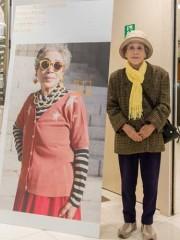下関でシニアファッション「超オトナ写真館」 素人モデル「遺影にしたい」
