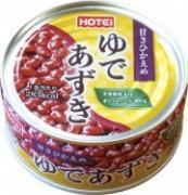 ホテイが「ゆであずき」缶発売へ 手軽に和風デザートやぜんざいを