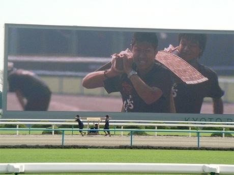 「第1回JRA京都競馬場大運動会」駕籠かきレース