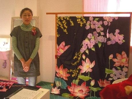 「椿-tsubaki labo-KYOTO」で10月15日から、展覧会「koha*の世界展 vol.3」が開催されている。