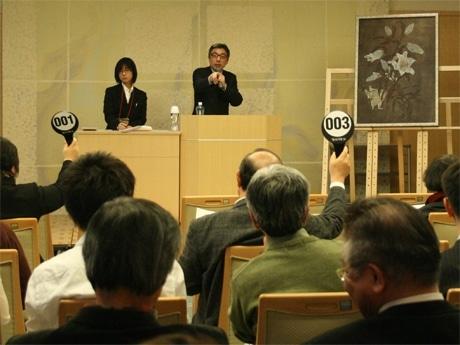 写真=過去の「京都学生アートオークション」開催の様子