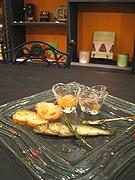 「京都美山産天然アユのコンフィ」-フレンチシェフが考案、季節限定提供