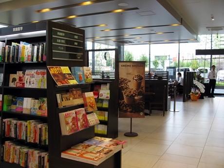ブック&カフェを採用したTSUTAYA京都リサーチパーク店
