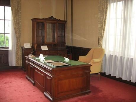 期間中一般公開される「旧知事室」