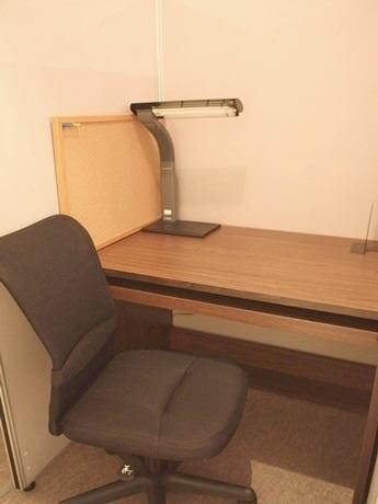 「Private Labo. Kyoto」の自習室