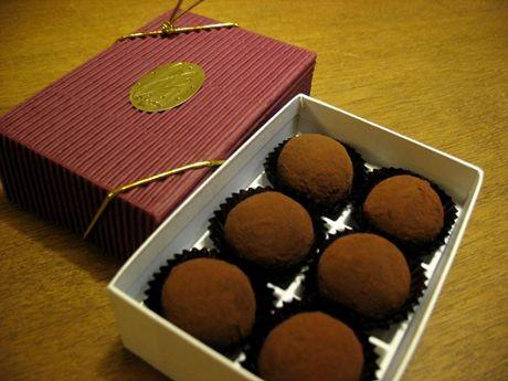 スロベニアのチョコレート菓子「ボンビツァ」