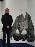 烏丸経済新聞・上半期PV1位は井上雄彦さん描く「親鸞」びょうぶ
