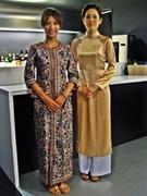 京都のコンパクトホテルで「アジアンナイトフライトフェア」-民族衣装で出迎え