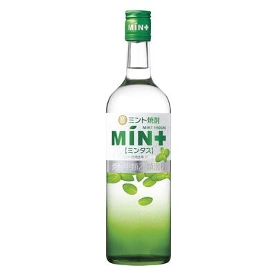 ミント焼酎「MIN+(ミンタス)」