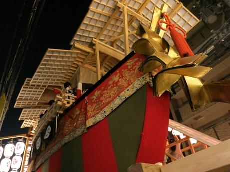 今年復興した「大船鉾」