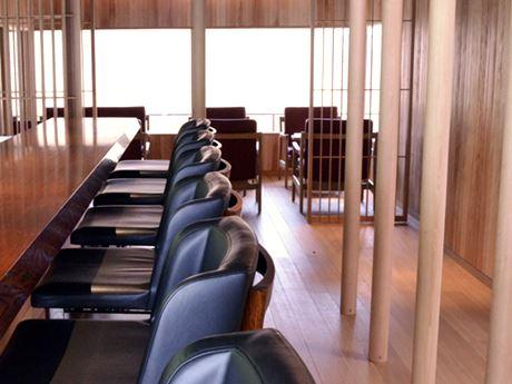 会場となる2階のカフェ
