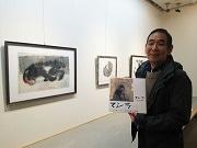 京都・嵐山のサルを描いて25年の日本画家 高島屋で個展