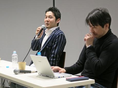 サイバーエージェントクラウド中山亮太郎さんとグローカル人材センターの中谷真憲さん