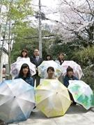 京都の女子大生が「お母さんにプレゼントしたい日傘」6案を商品化 百貨店で販売へ