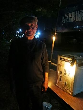 堀川ほたるプロジェクトの藤田会長