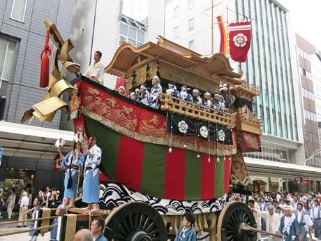 後祭巡行のしんがりを務める「大船鉾」