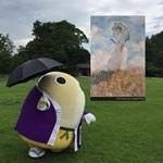 京都府立植物園にオルセー美術館の名画 ARアプリでスタンプラリー
