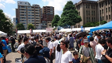 昨年のイベントの様子。約5000人が参加した