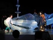 二条城で野田秀樹さん演出「東京キャラバン」 祇園祭「鷹山」の囃子も登場