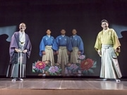 京都・先斗町歌舞練場に中村芝翫さん 先端技術でバーチャル「親子共演」