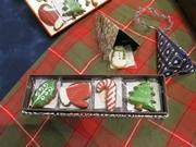 京都・老舗紙器店がクリスマス限定クッキーギフト 世界の紙で作る「貼り箱」も
