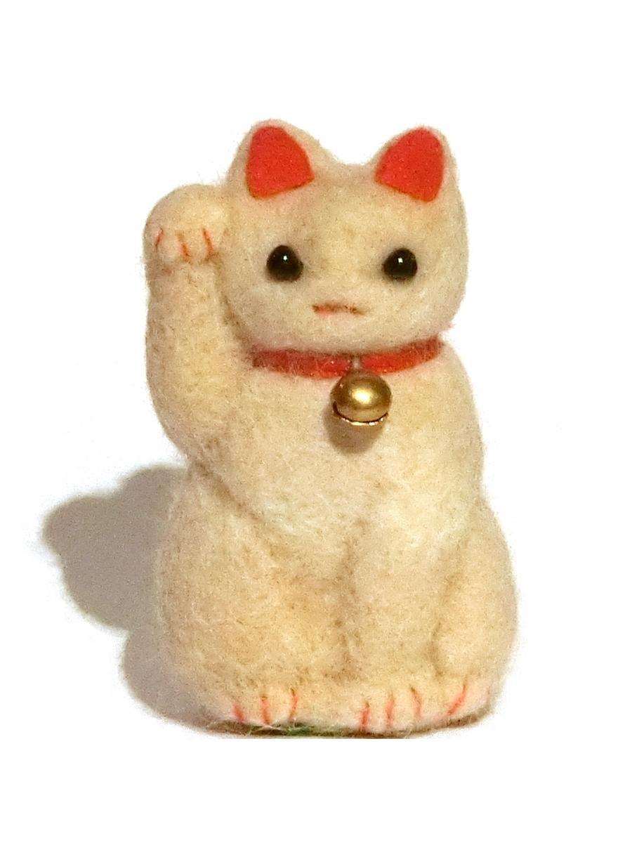 猫の毛で作られた「招き猫毛」
